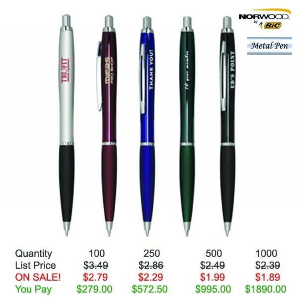 BiC Medium Cristal Black Pens Pack 50