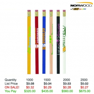 Pricebuster Round Pencils