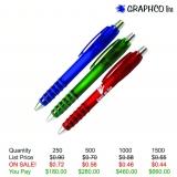 Translucent Pen with Grip
