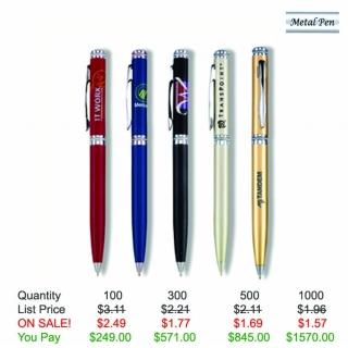Twist action pen