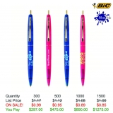 BIC® Clear Clics Gold