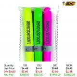 BIC® Brite Liner Grip 3-Pack
