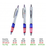 Emissary Click Pen - USA Theme