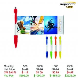 Translucent Banner Pen