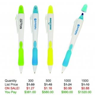 2-in-1 Contempo Pen/Highlighter