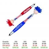 Patriotic MopTopper Pen