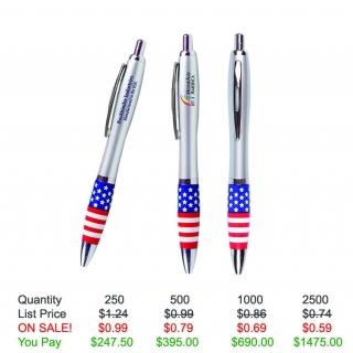 Emissary Click Pen - USA Theme