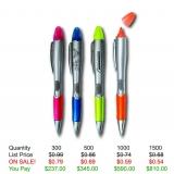Pen/Highlighter Combo lV